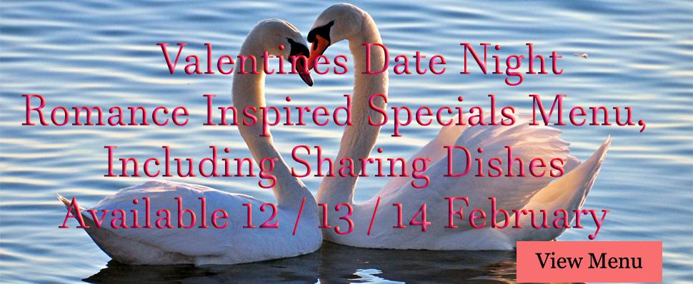 Valentines Menu Specials