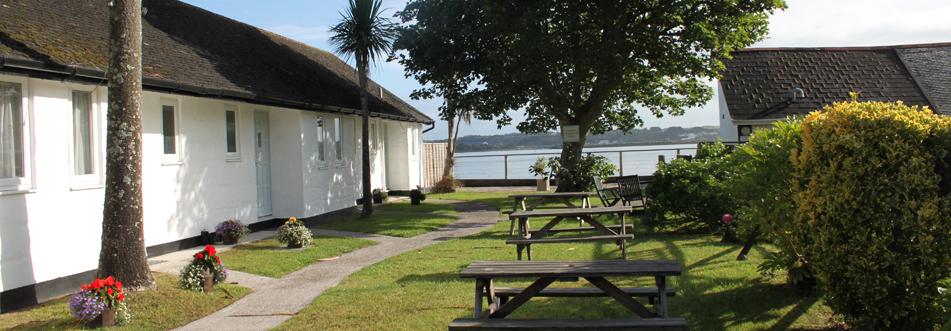 Outside of Lodges