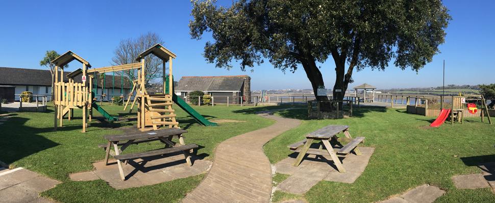 Estuary Garden Chiildrens Play Area