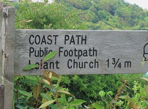 Coastal Path Sign