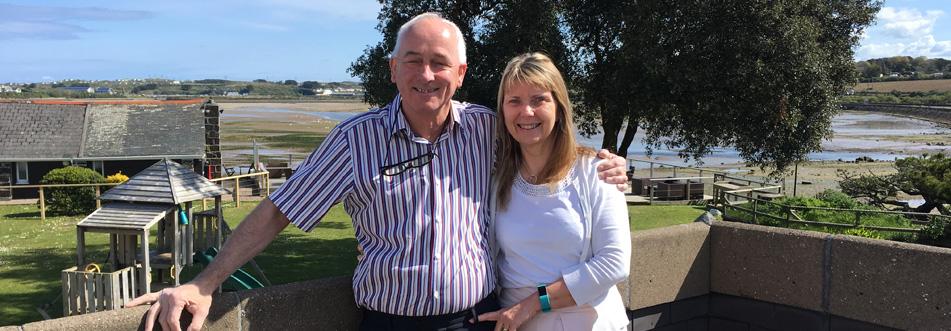 Trevor and Margaret