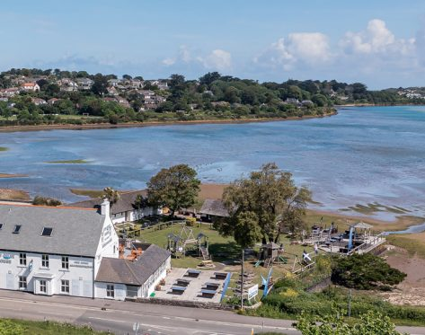 The Old Quay House and The Hayle Estuary
